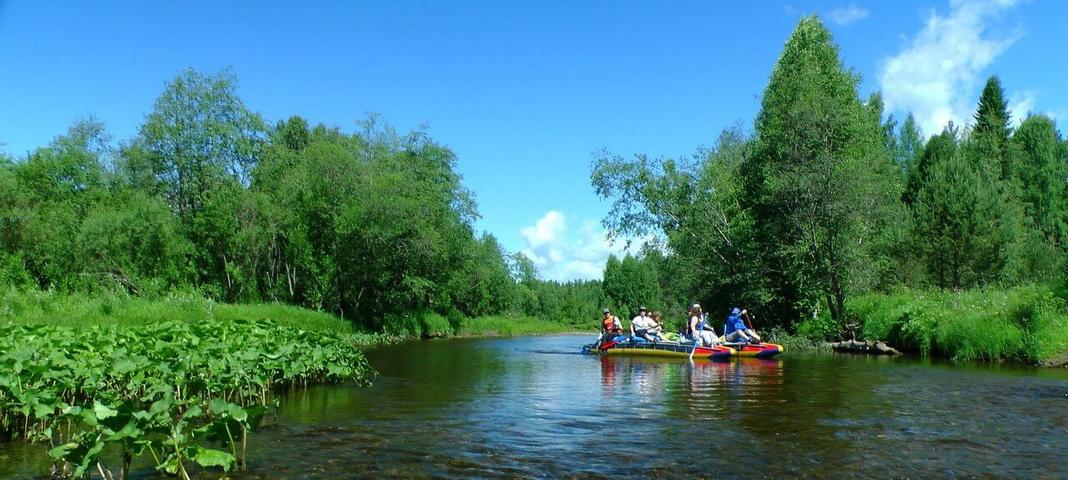 Река Ляля, Северный Урал
