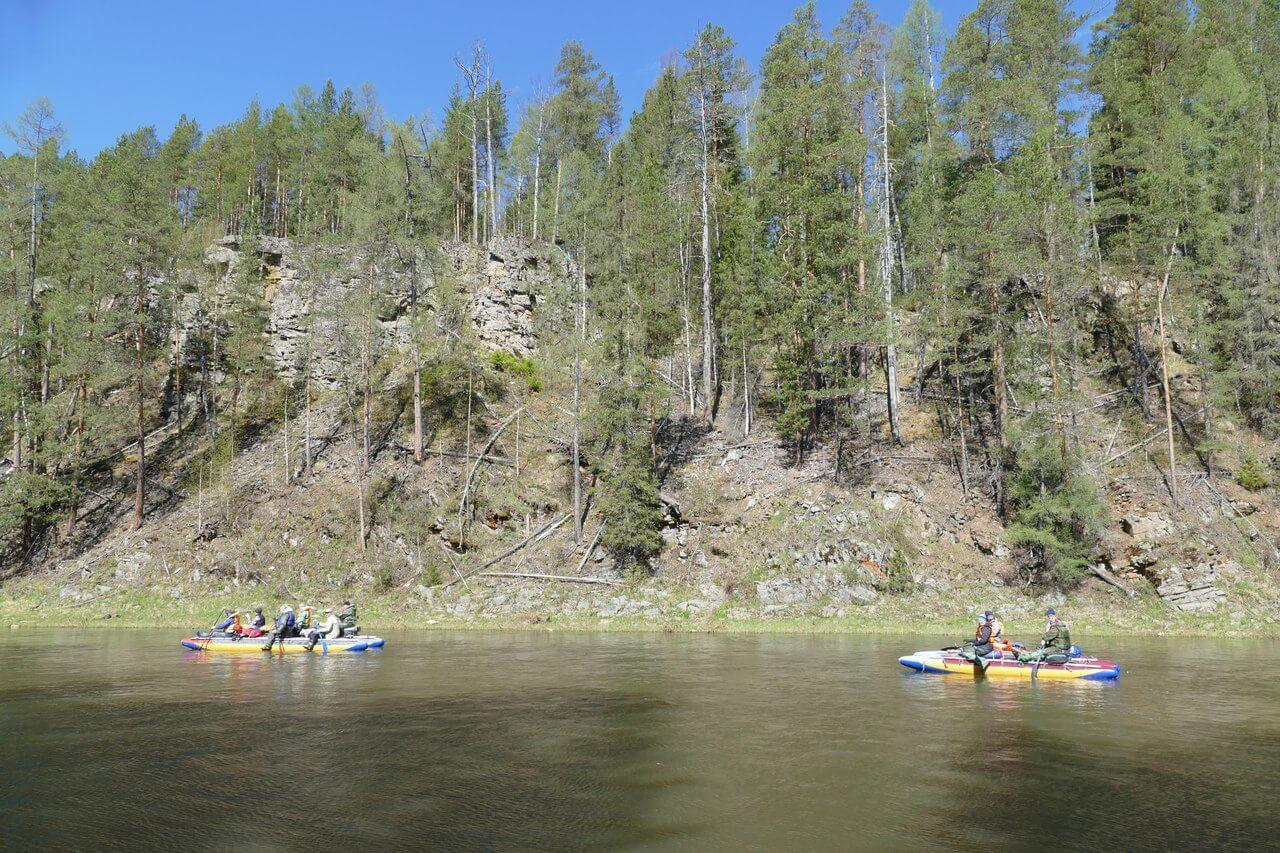 Сплав по реке Межевая Утка