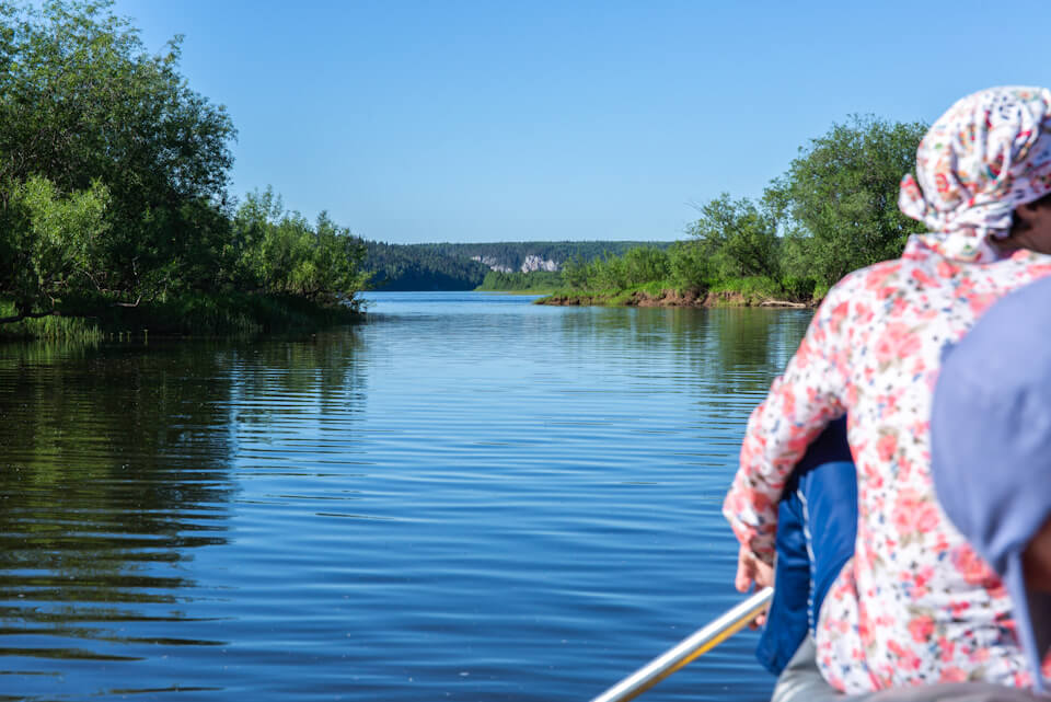 Сплав по реке Вишера: Камни Писанный, Бычок и Сыпучи, Пермский край