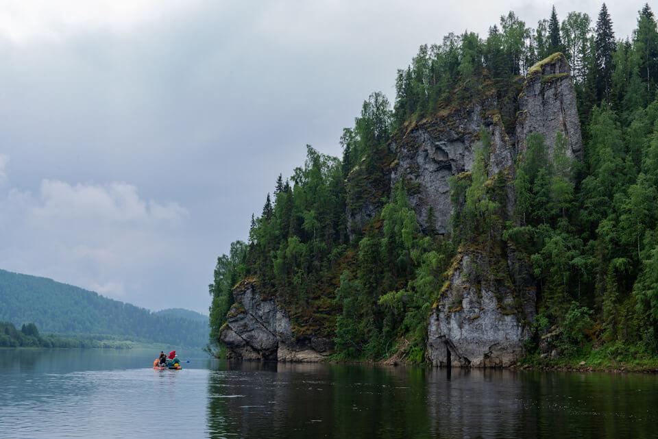 Сплав по реке Вишера: Камни Столбы, Дыроватый, Осинный и Сторожевой
