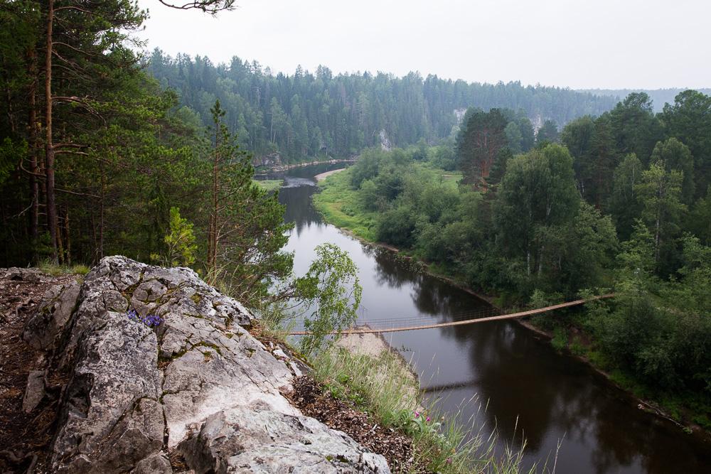 Сплав по реке Серге