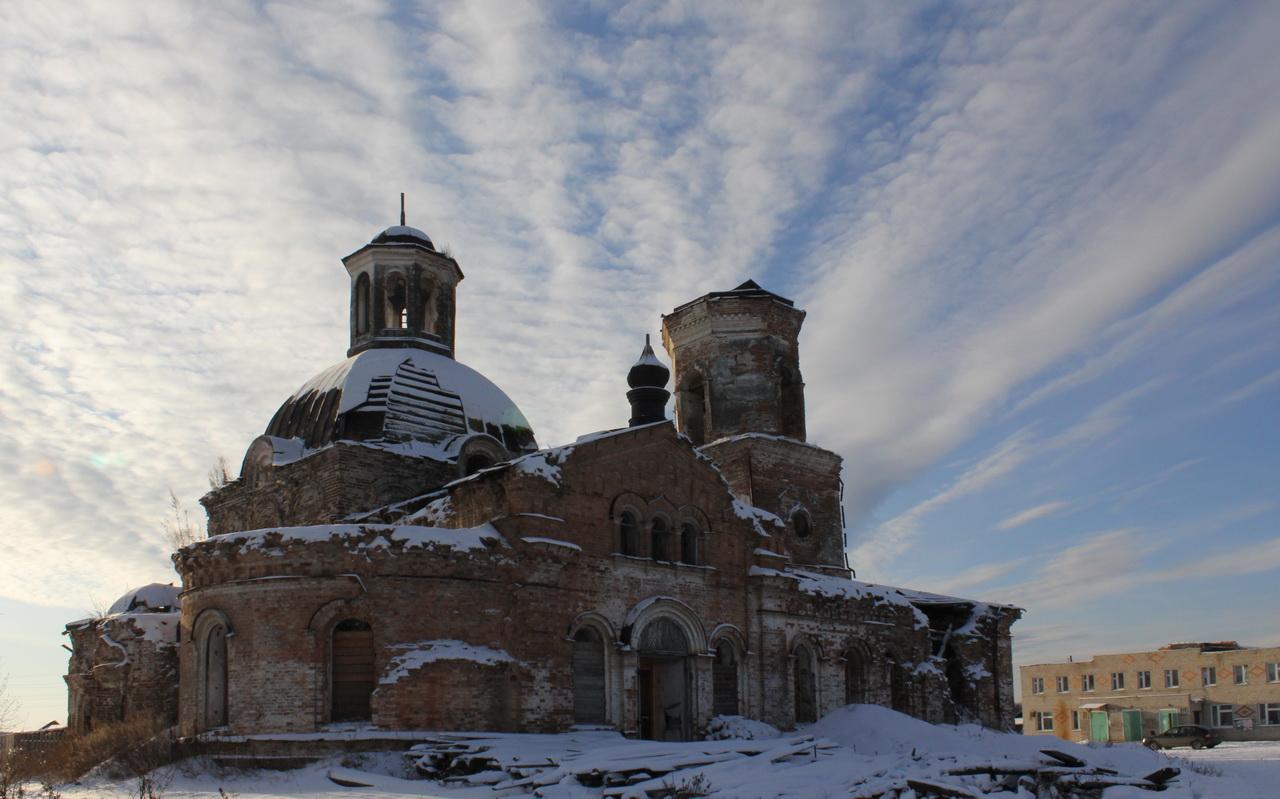 Сретенская церковь в селе Прокопьевская Салда