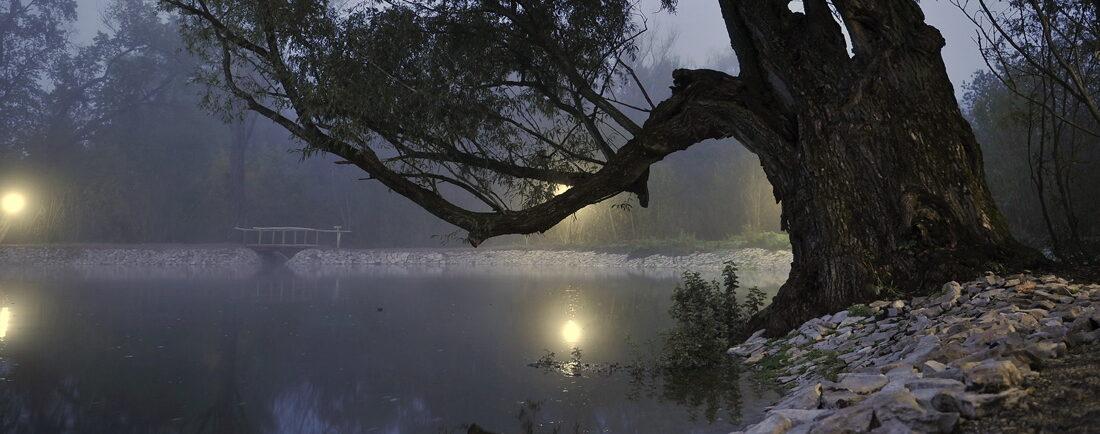 Нелегкий разговор у озера Любви