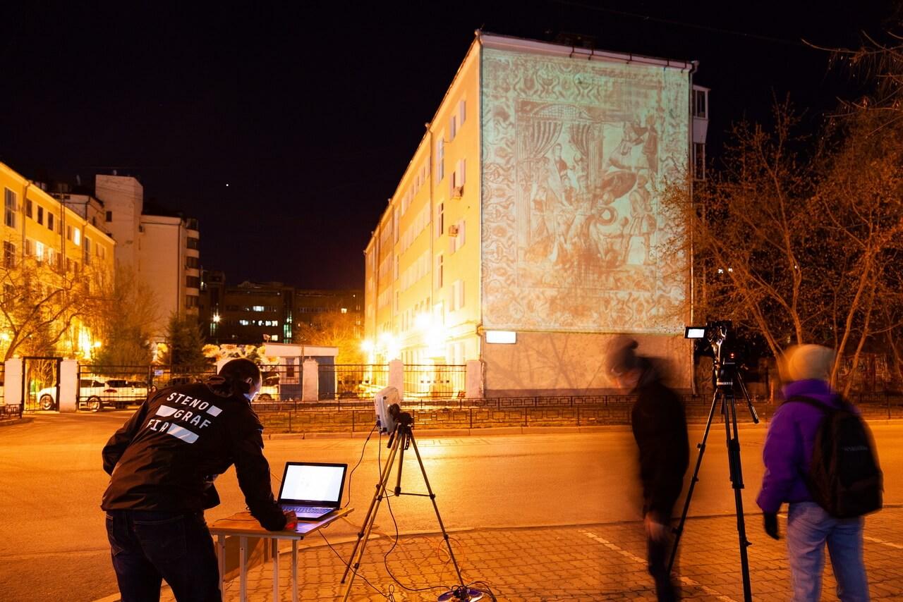 В Екатеринбурге при помощи нейросети на фасаде здания создадут репродукцию античной фрески