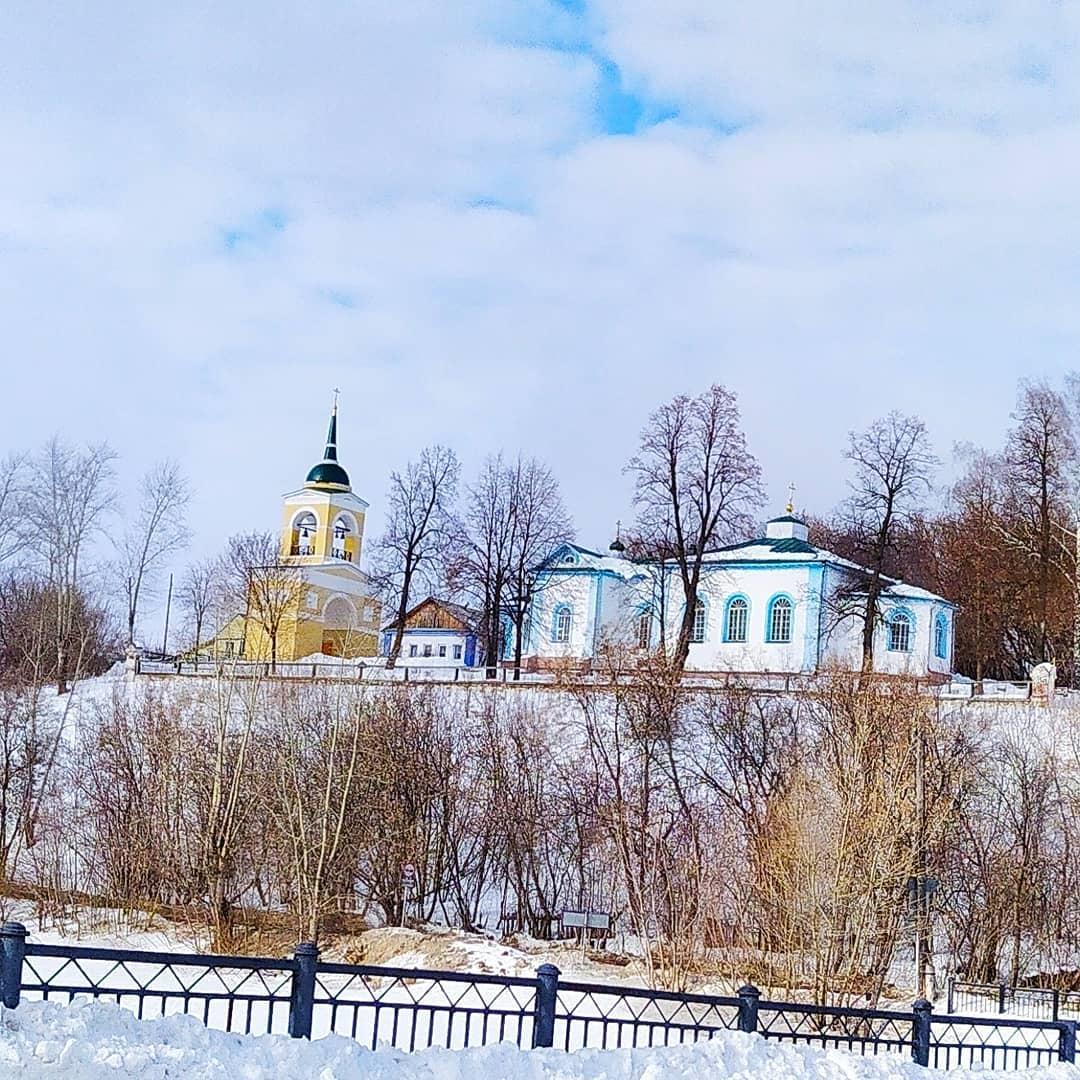 Церковь Петра и Павла в Суксуне