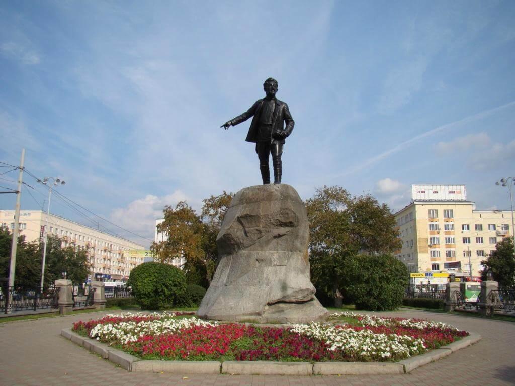 Памятник Я.М. Свердлову