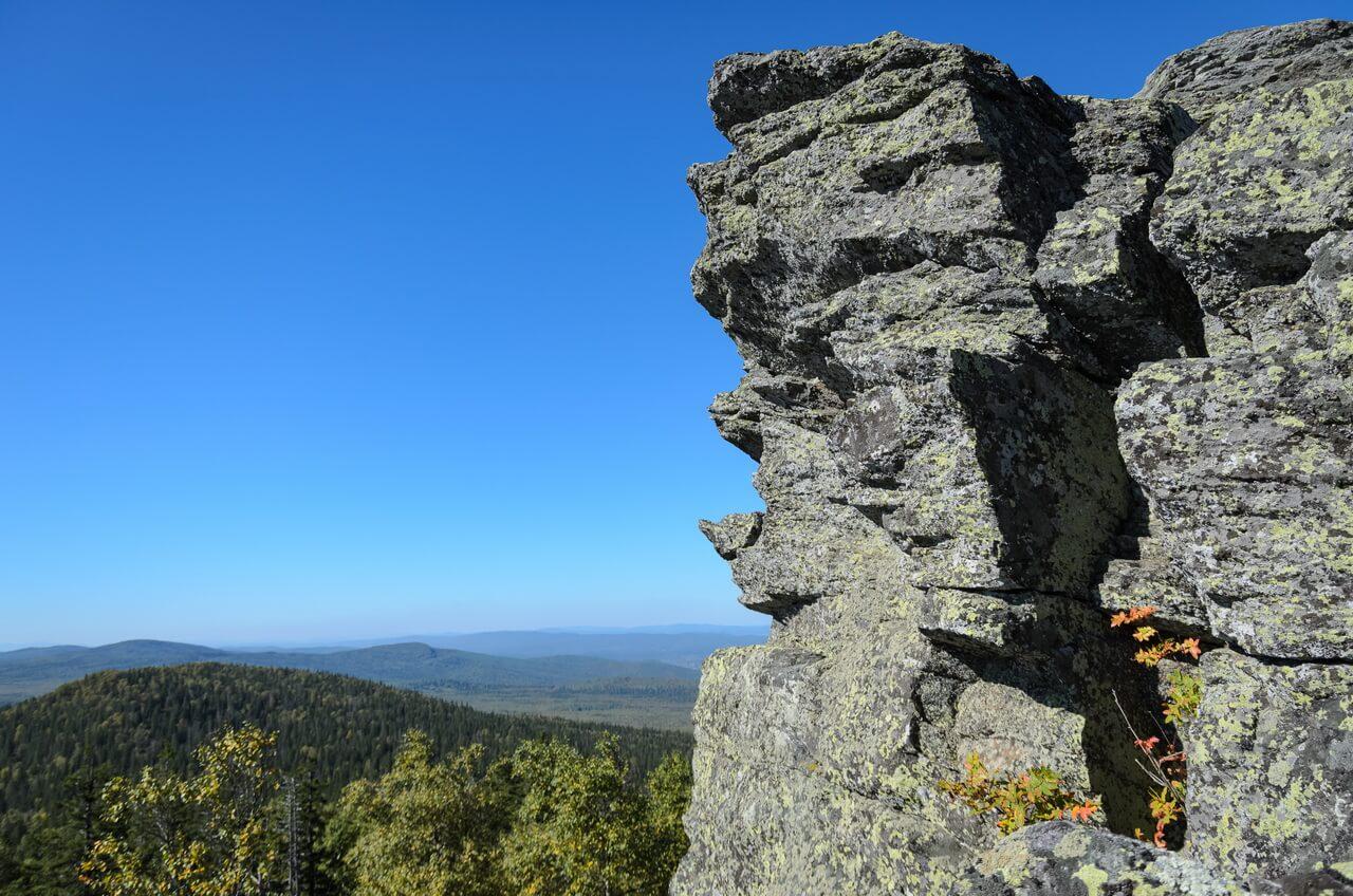 Альмандиновая горка, Таганай, Челябинская область, Южный Урал