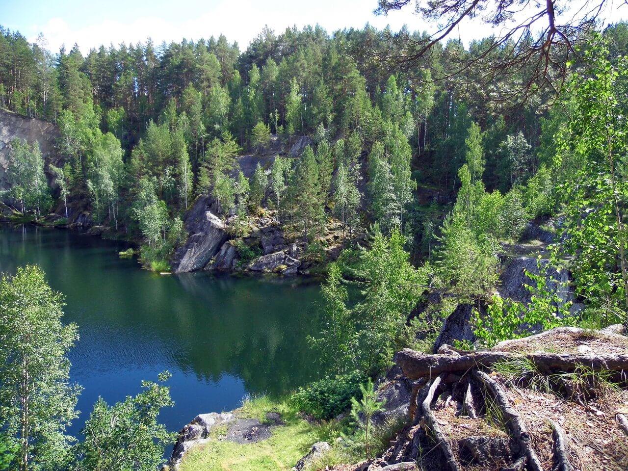 Озеро Тальков Камень, Бажовские места, Свердловская область, Средний Урал