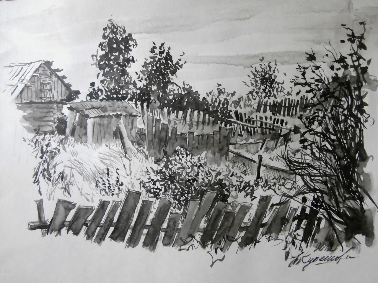 Художник и поэт Татьяна Кулешова