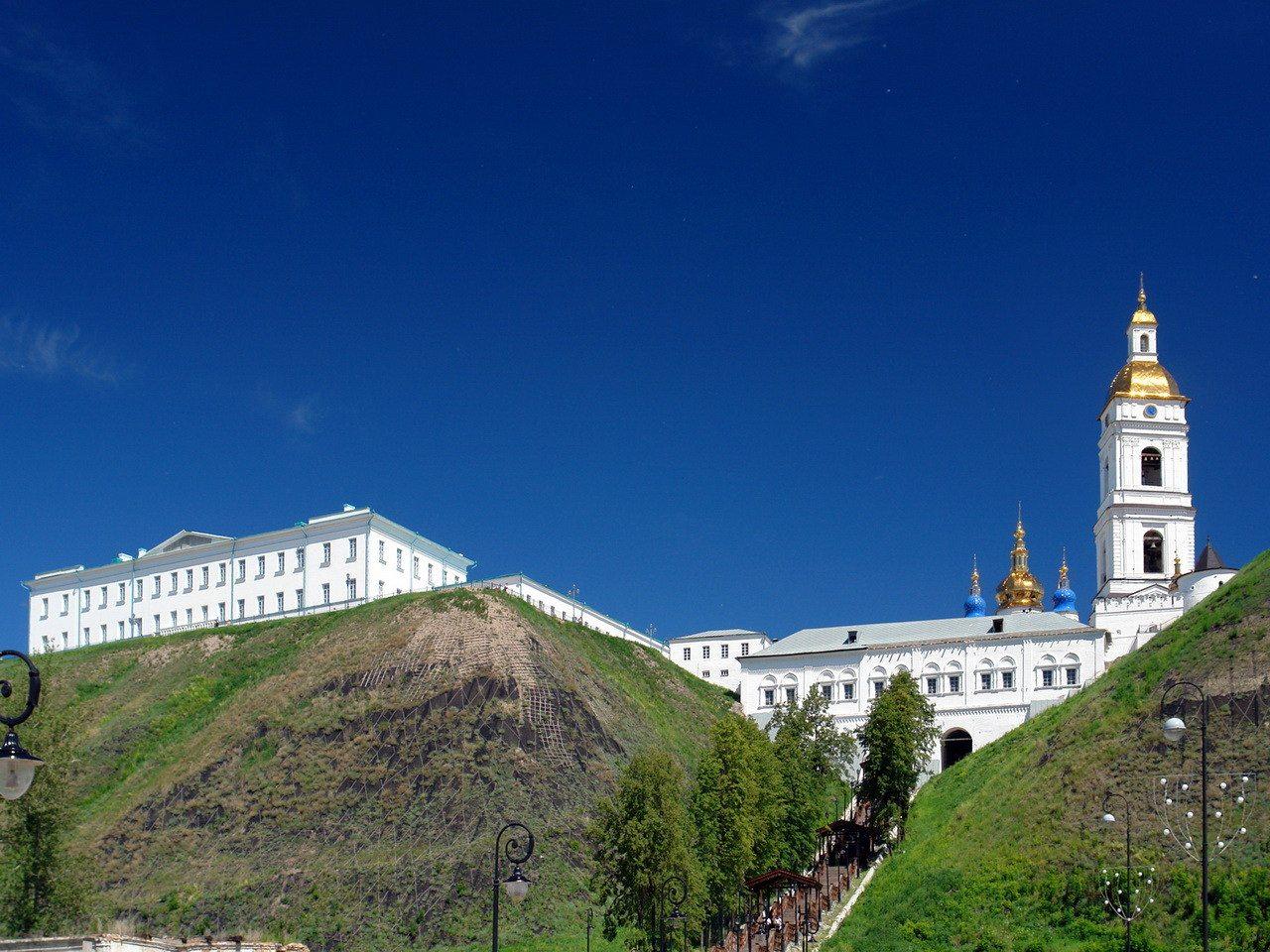 Софийский Прямской взвоз, Тобольский кремль, Тобольск, Тюменская область