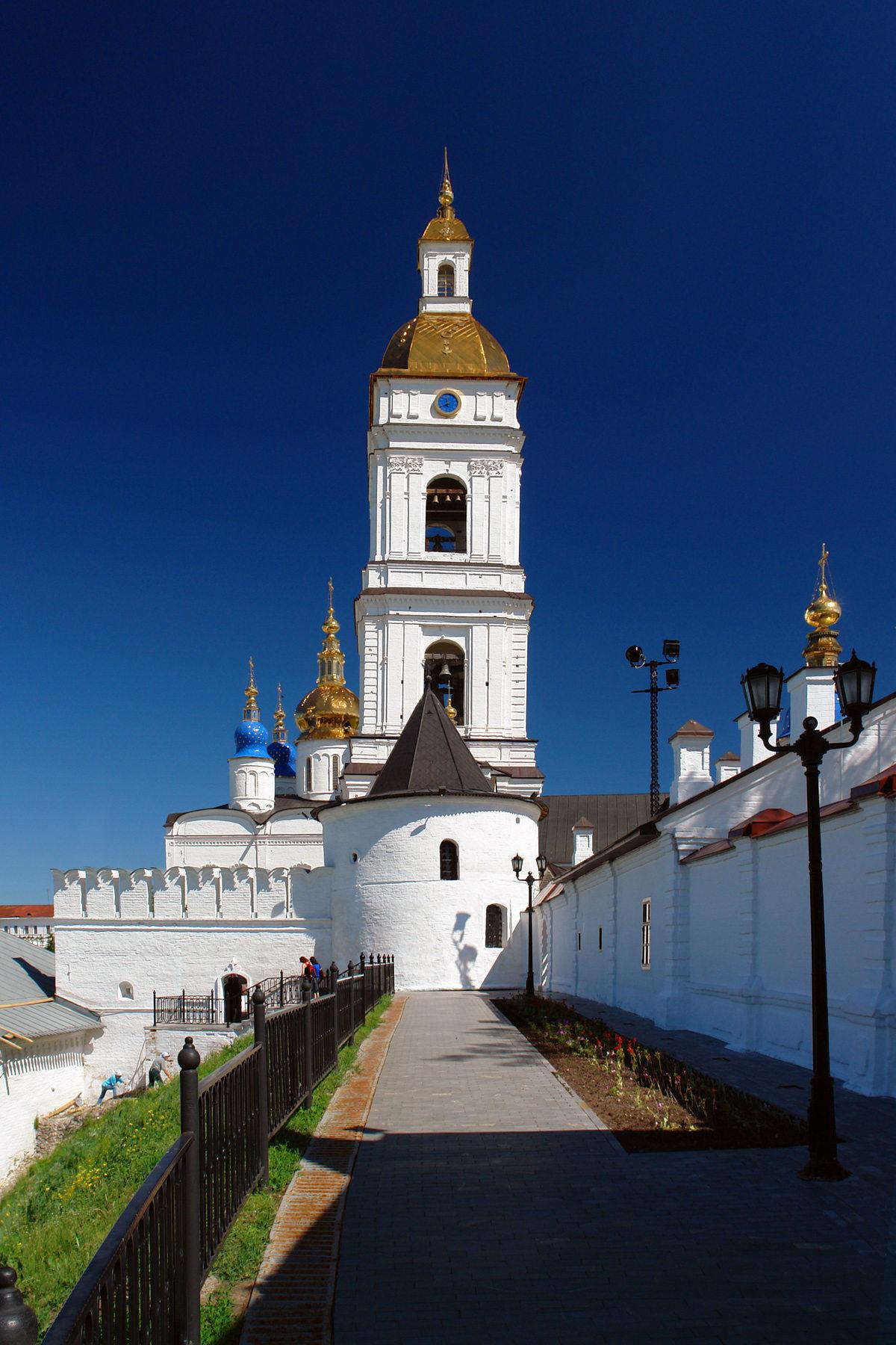 Соборная колокольня, Тобольский кремль, Тобольск, Тюменская область