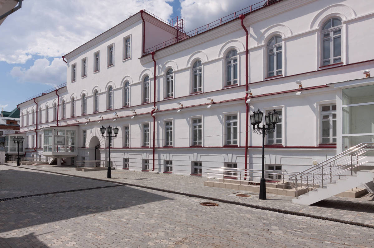 Научная библиотека, Тобольский кремль, Тобольск, Тюменская область