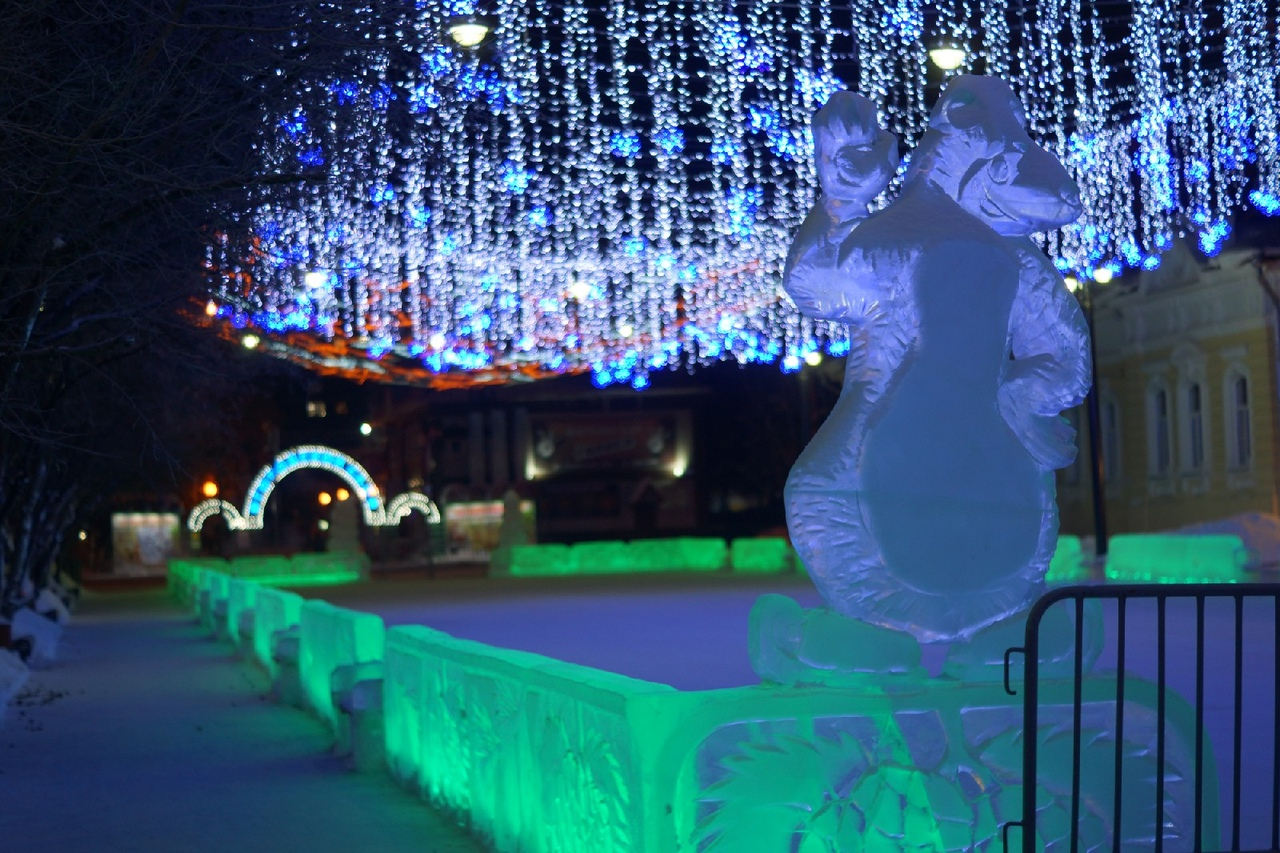 Томск, Сибирь, новый год, новогодний город, новогоднее настроение, Волшебник Изумрудного города, зимний Томск, Транссибирская магистраль,
