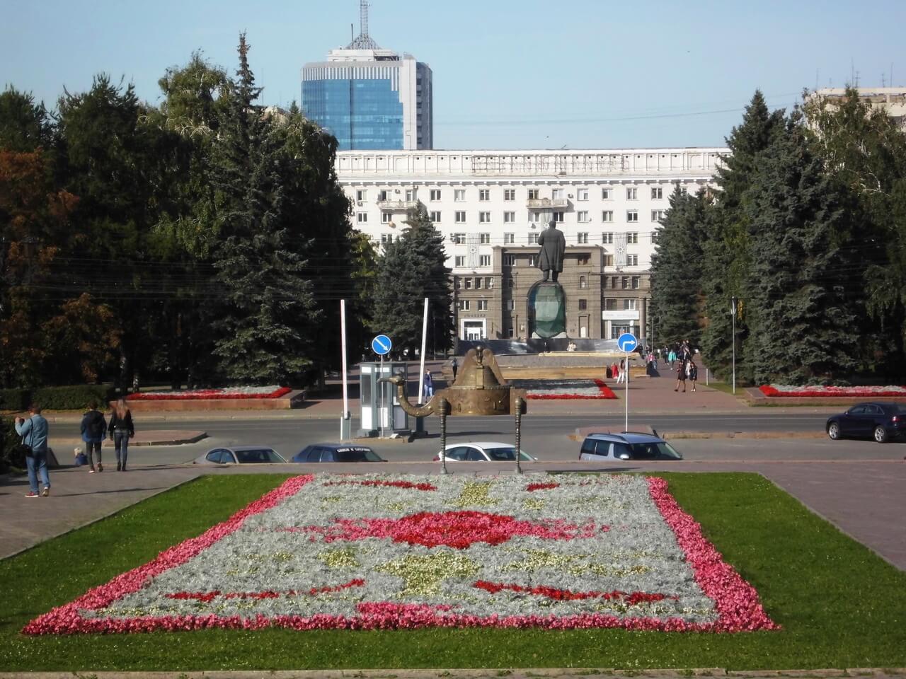 Площадь Революции, Челябинск