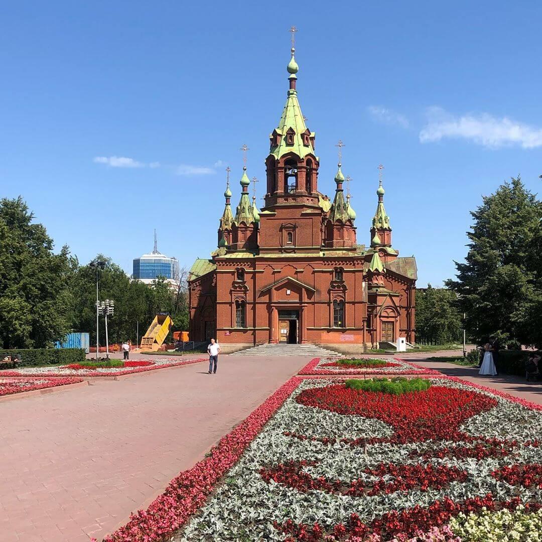 Храм Александра Невского, Челябинск