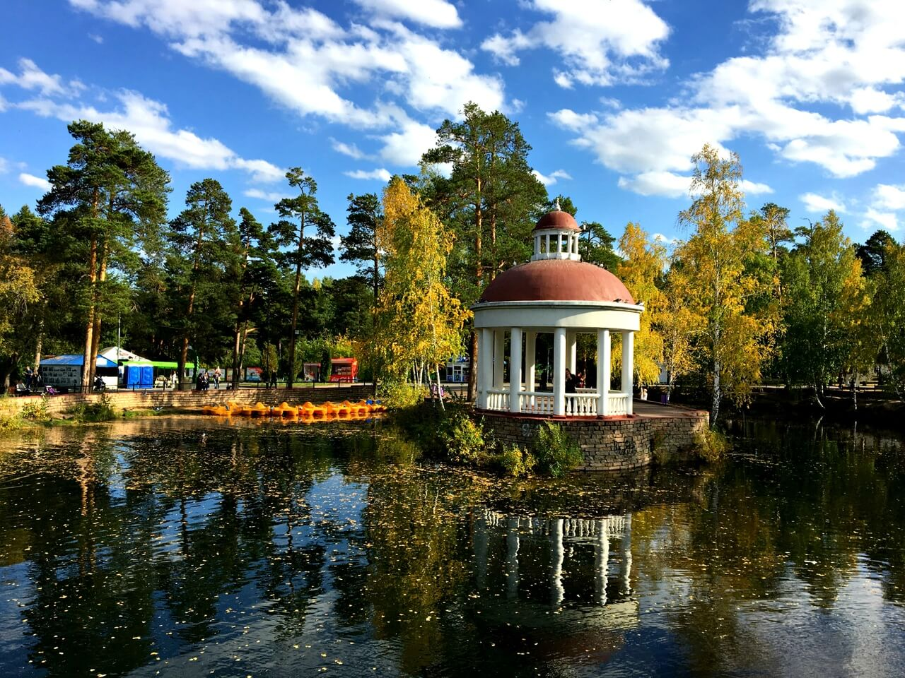 Парк имени Гагарина, Челябинск