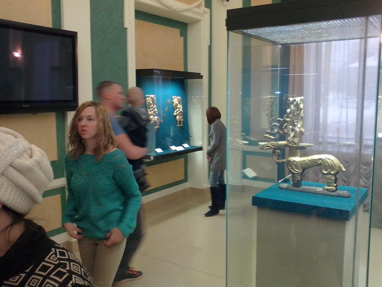 Музей археологии и этнографии: коллекция сарматского золота в Уфе