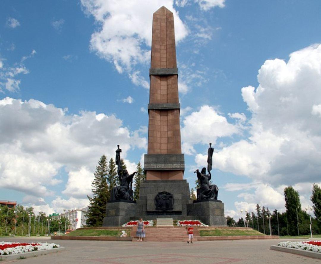 Монумент Дружбы в Уфе