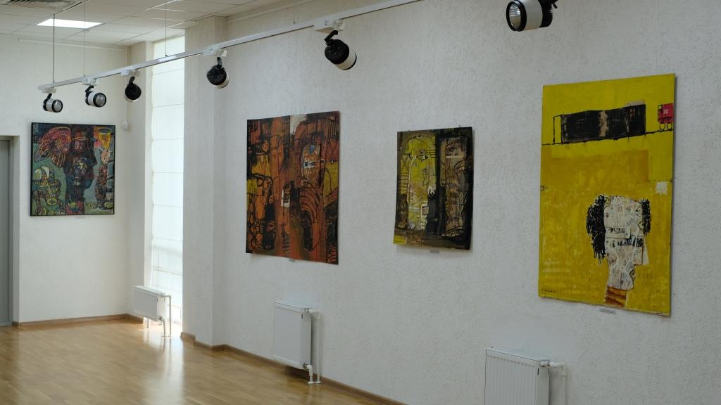Коллекция произведений Давида Бурлюка в Уфе