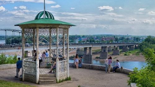 Парк Салавата Юлаева в Уфе