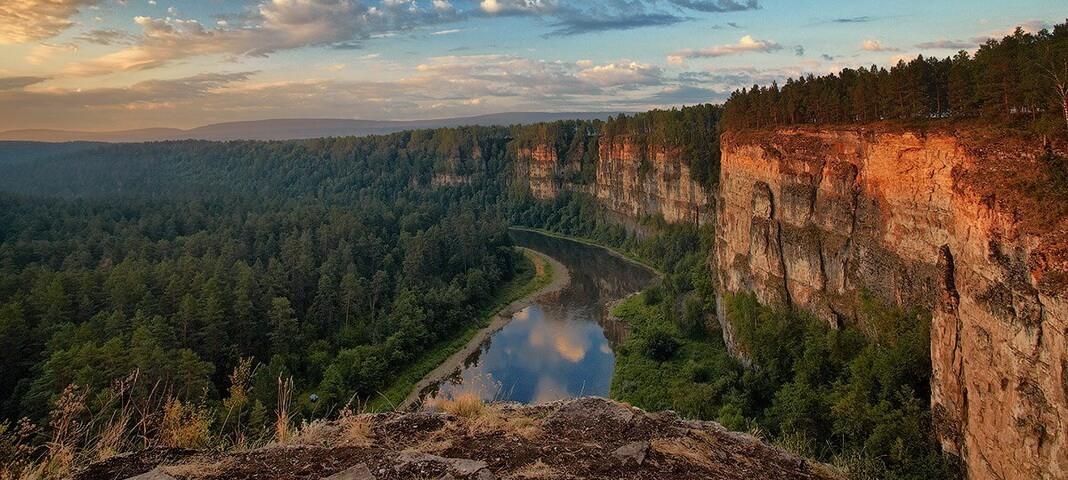 Река Вишера, Пермский край