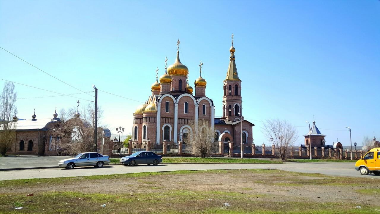 Царская дорога, Храм, Новотроицк, Оренбургская область, Южный Урал