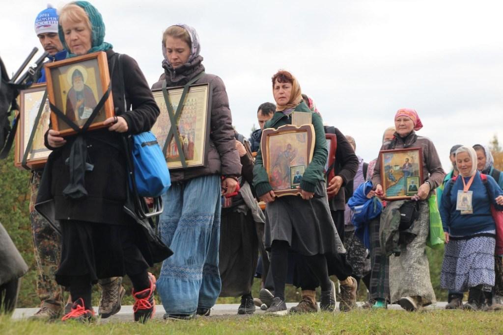 Свердловская область, крестный ход, святые Урала, Симеон Верхотуринский