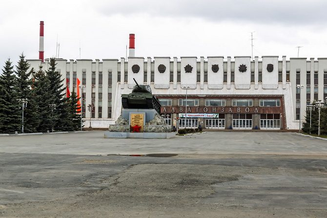 «Уралвагонзавод» (г. Нижний Тагил). Автор фотографии: fefmipk