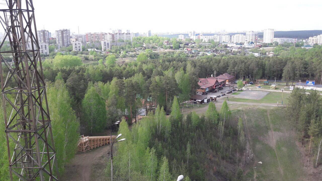 Уктусский лесопарк, Уктус, смотровая площадка, Екатеринбург