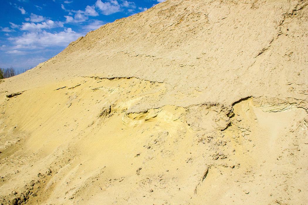 Уральская Сахара, Кин-дза-дза, Шламохранилище Тайгинского карьера