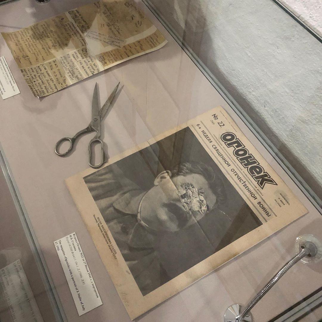 Поцарапанный Сталин и 24 года Гулага...