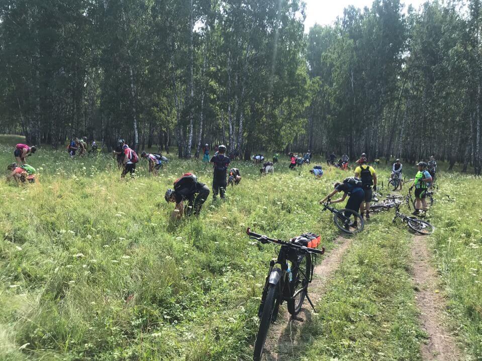 К Уральскому Марсу на велосипедах