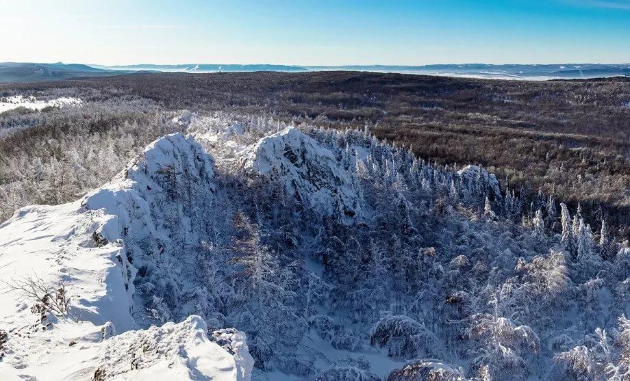 Гора Курташ (Курташтау), Башкортостан, Южный Урал