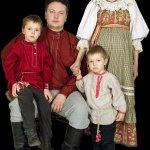Уральский народный костюм из Сухого Лога