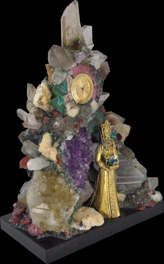 Музей минералогии, камнерезного и ювелирного искусства в городе Заречный