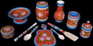 Мастерская шадринской художественной росписи