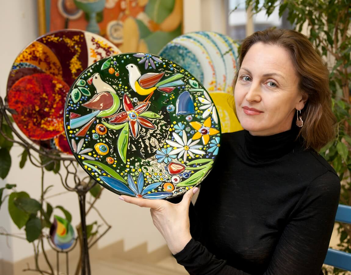 Художественное стекло Юлии Крутеевой