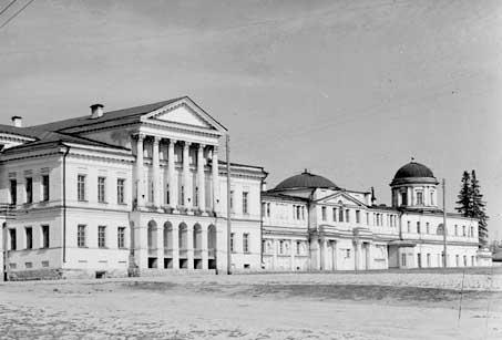 Усадьба Расторгуева-Харитонова. Фото Прокудина-Горского. Начало XX века