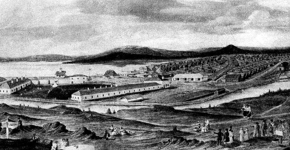 Вид Черноисточинского завода. Начало XIX века
