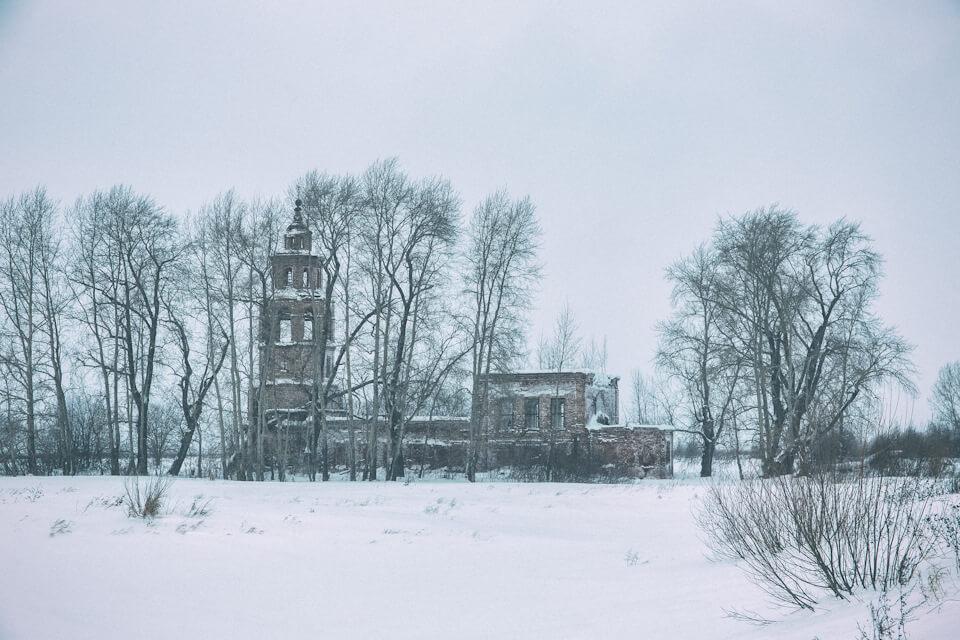 Усолье, Уральская Венеция, Пермский край, Зима на Урале