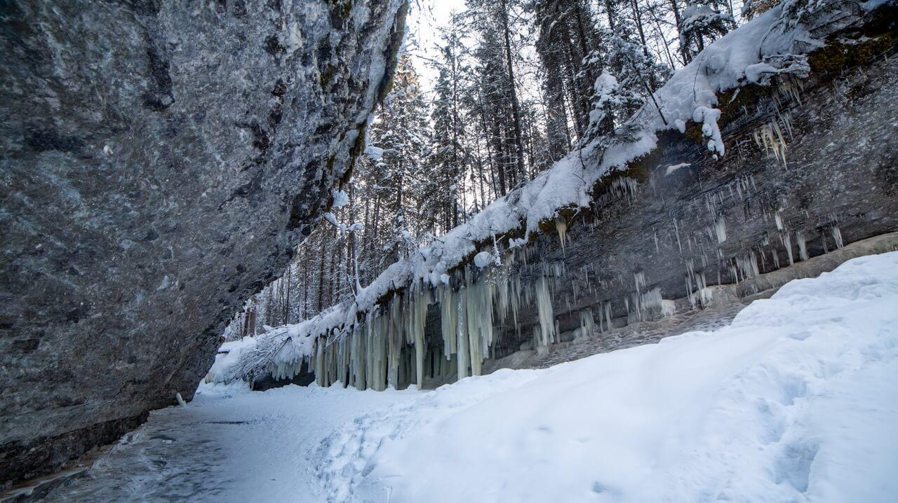 Водопад Мельничный ручей
