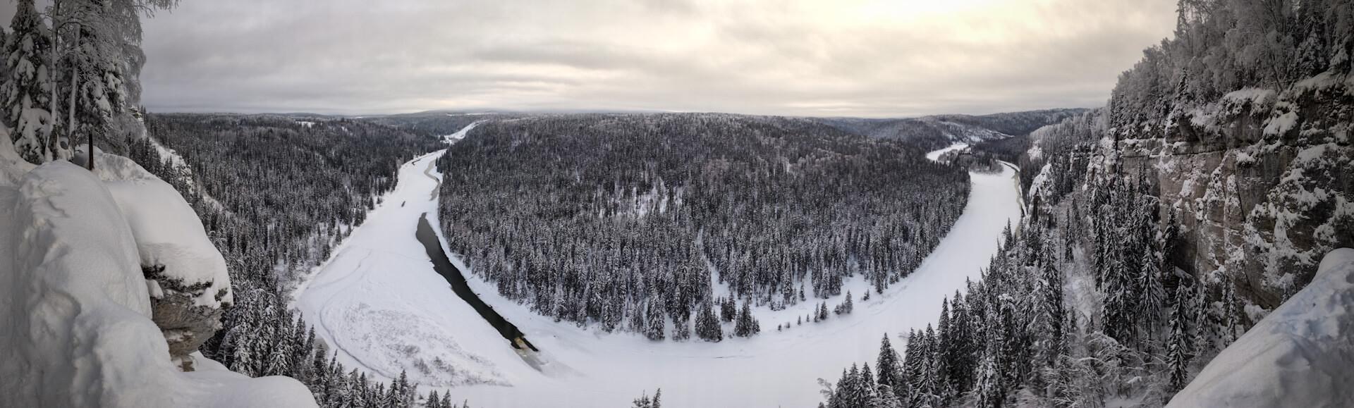 Река Усьва, Усьвинские столбы, Пермский край