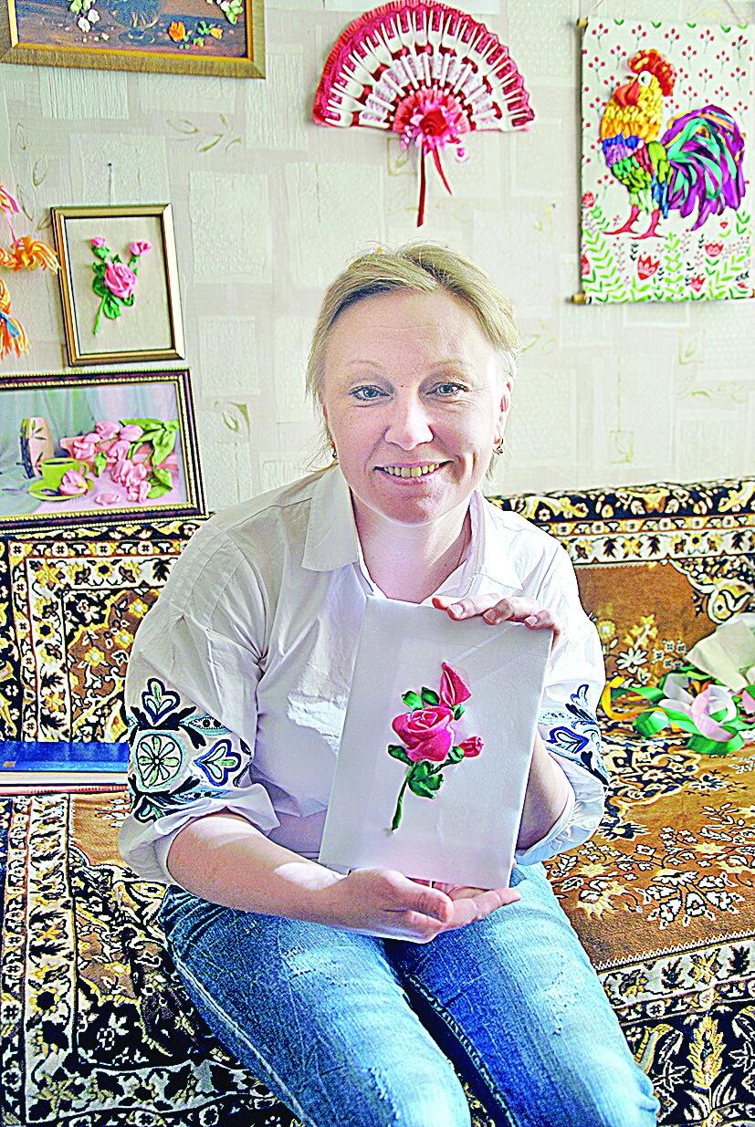 Валентина Печенкина: вышивка лентами - искусство времен Людовика ХV