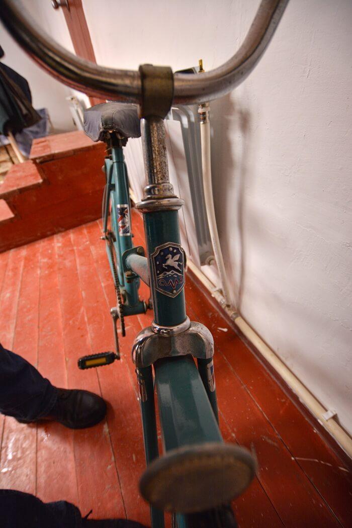 Велосипед «Уралец», Атиг, Свердловская область