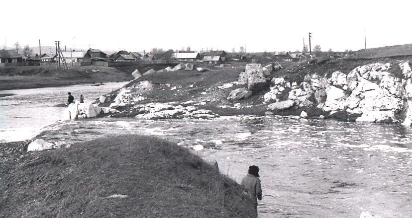 Река Тагил. Фото 1987 г.