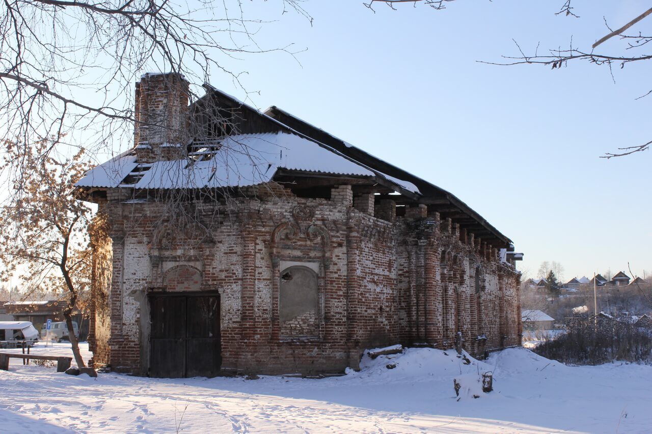 Церковь Иоанна Предтечи, Верхотурье, Меркушино, храмы Свердловской области