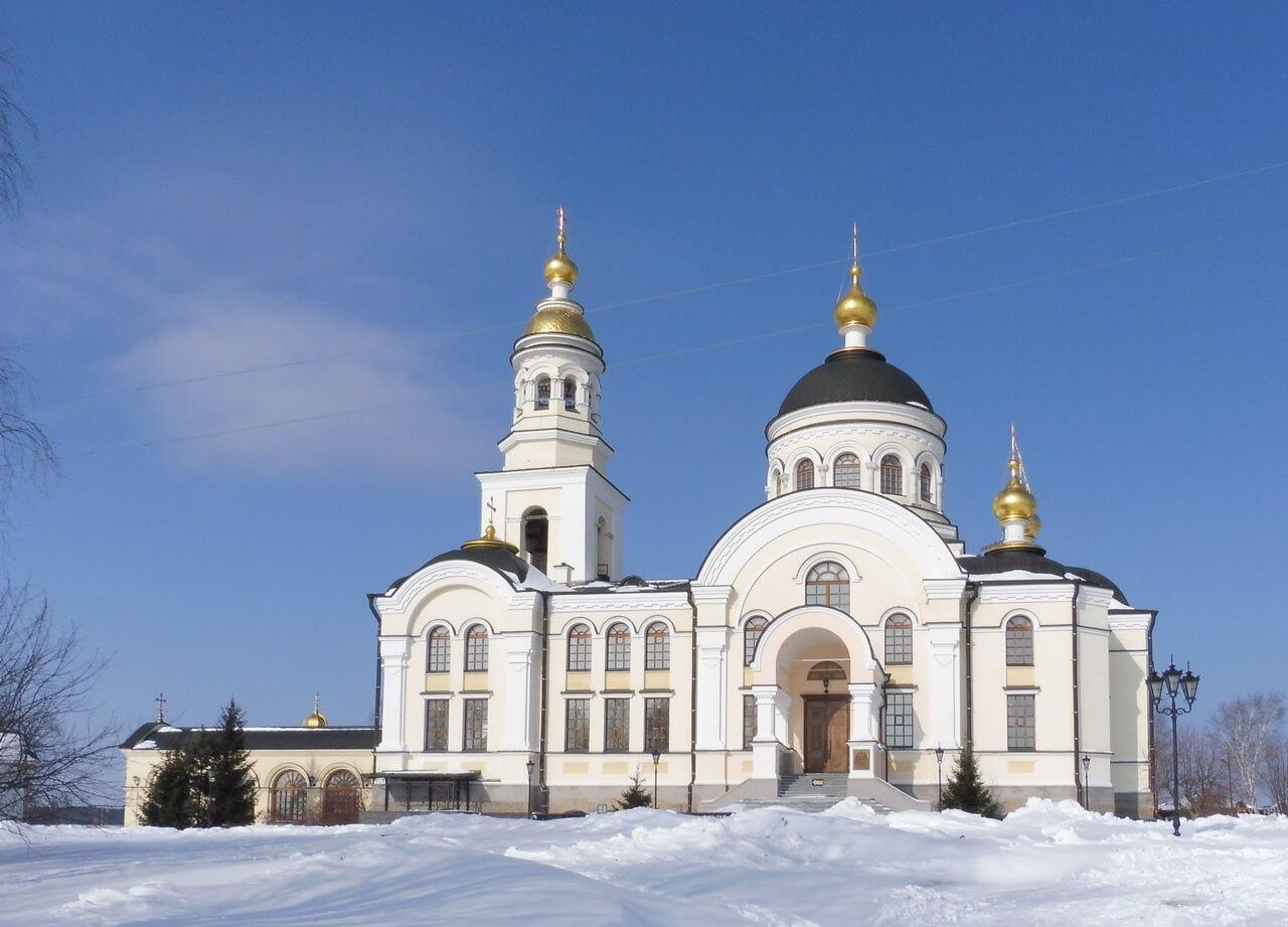 Храм Архистратига Михаила, Меркушино, храмы Свердловской области