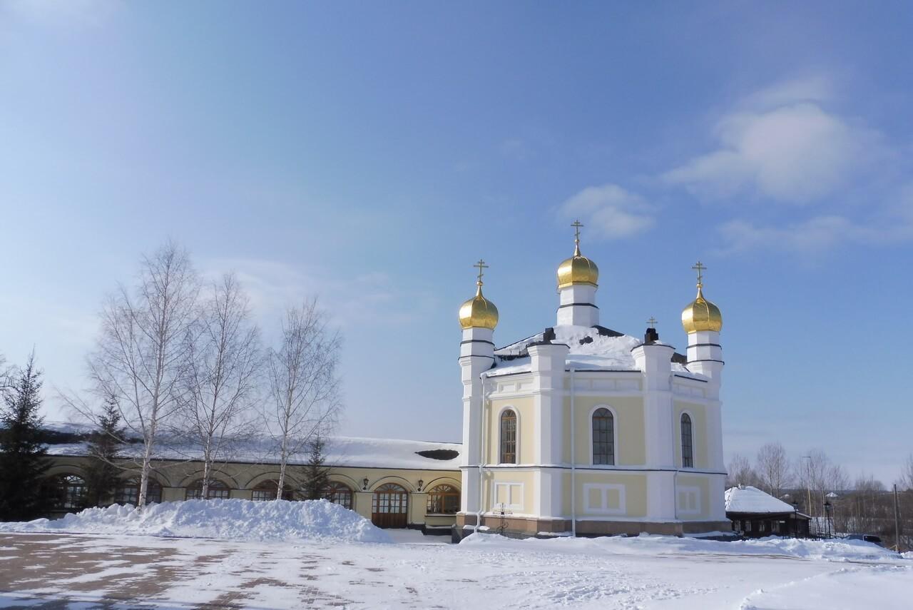 Симеоновская церковь, Меркушино, храмы Свердловской области