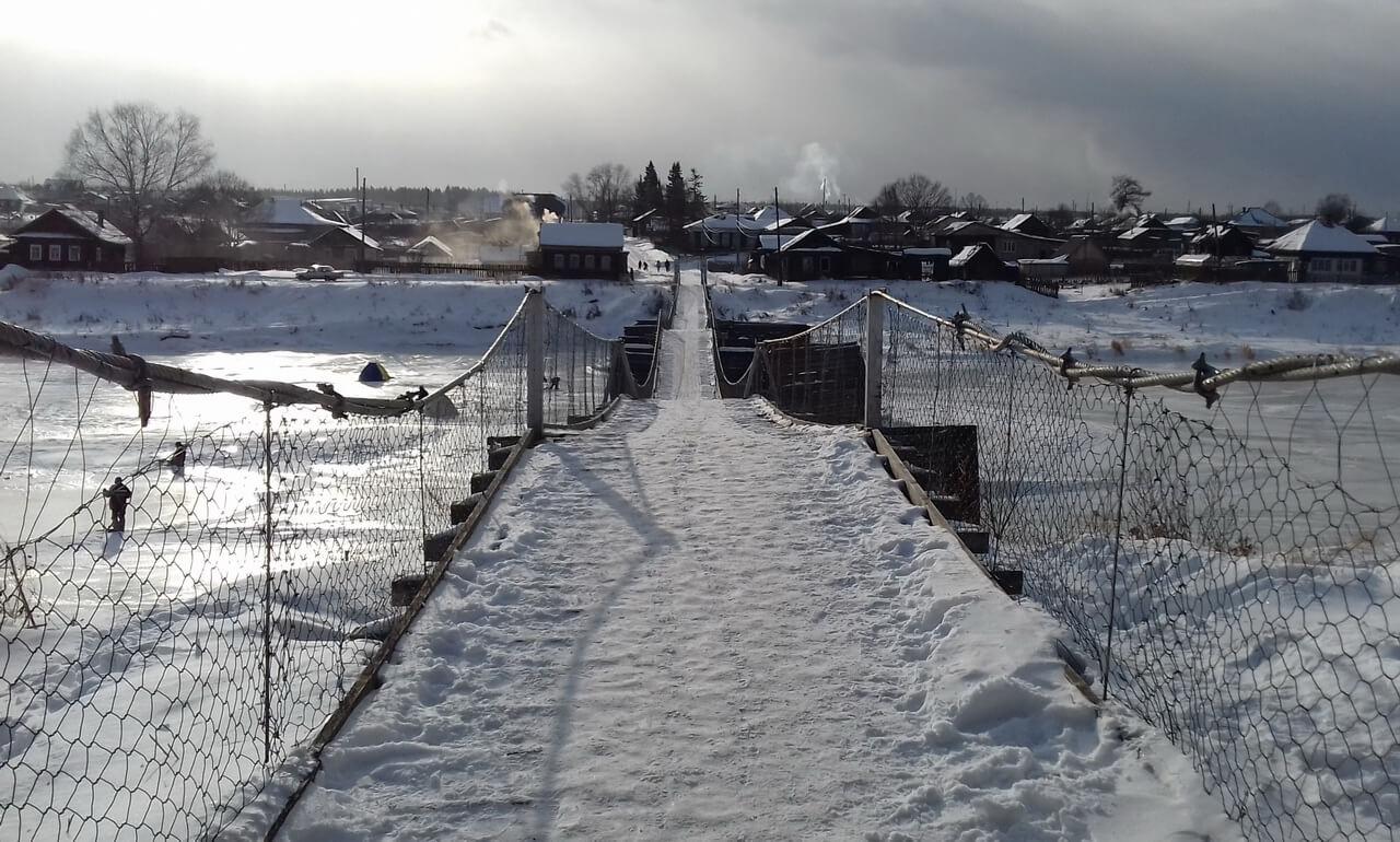 Мост через Туру, Верхотурье, Меркушино, храмы Свердловской области