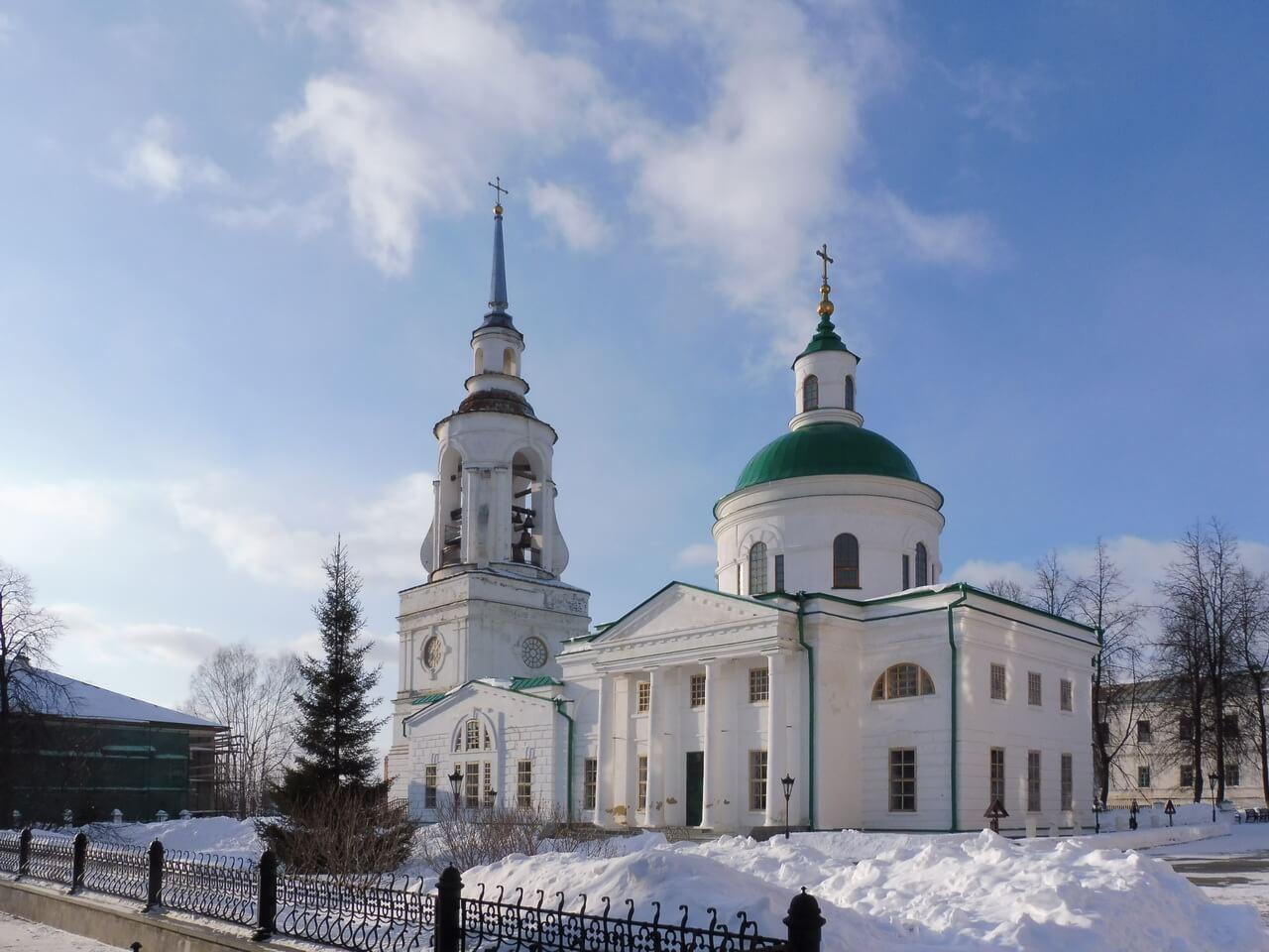Преображенская церковь, Верхотурье, Меркушино, храмы Свердловской области